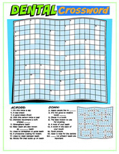 Dental Crossword activity sheet - Pediatric Dentist in Austin, Tx