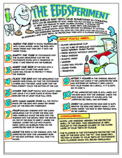 EggSperiment activity sheet - Pediatric Dentist in Austin, Tx